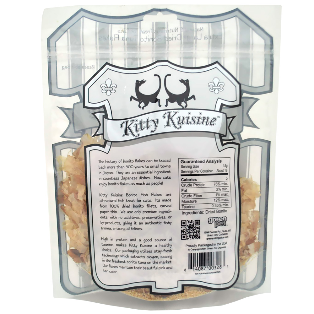 Kitty Kuisine Natural Fish Flakes (1 oz)