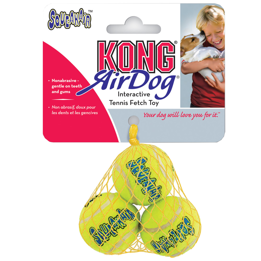 KONG Air Squeaker Balls - Extra Small (3 Pack)