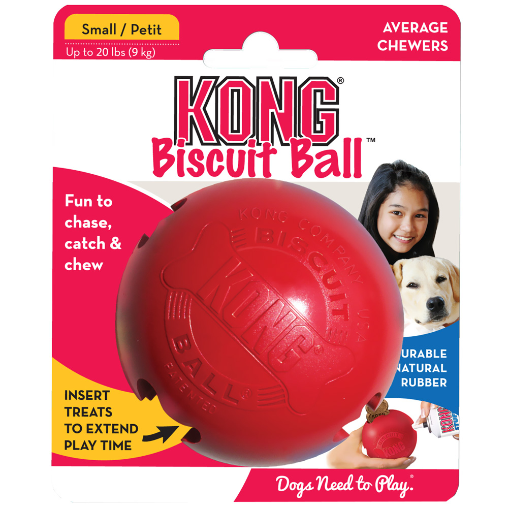KONG Biscuit Ball - SMALL