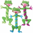 KONG Braidz Frog Dog Toy - Small (Assorted)