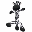 Kong Braidz Zebra Plush Dog Chew Toy (Small)