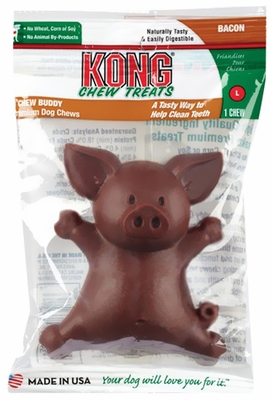 KONG Chew Buddies Large - Bacon