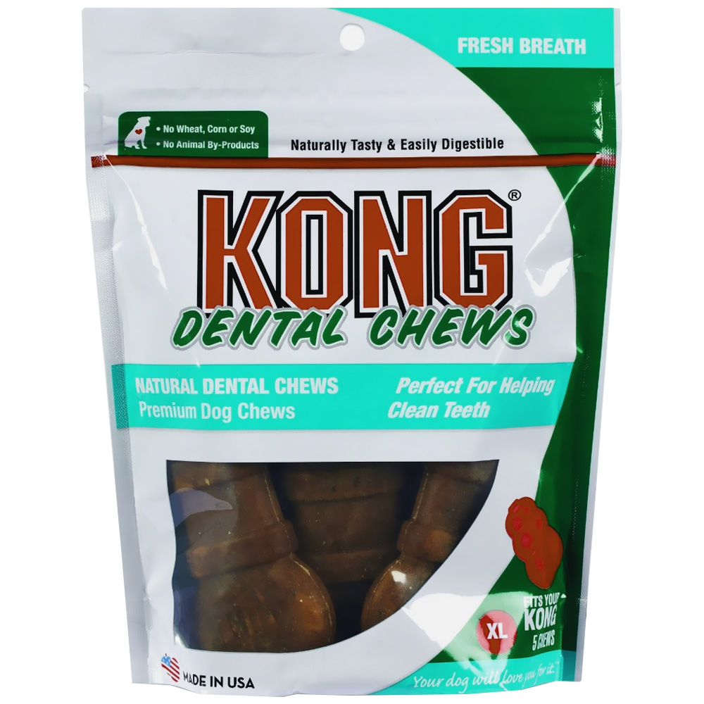 KONG Dental Chews Breath Fresh - X-Large (5 pack)