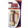 KONG Double Chews Bacon Rawhide - Large (2 pack)