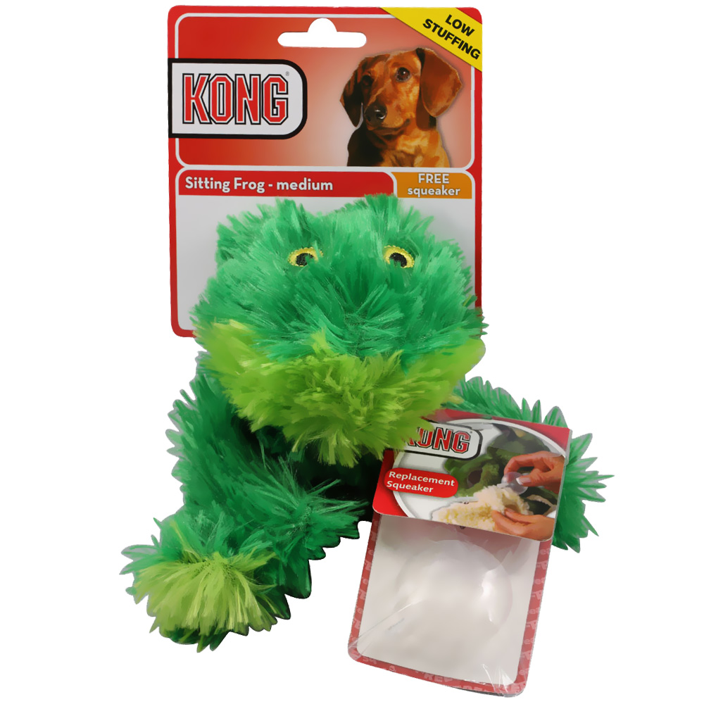 KONG Dr. Noys� Sitting Frog  - Medium