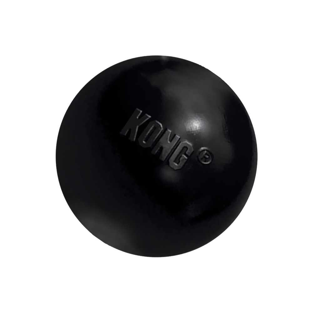 KONG Extreme Ball - Medium/Large Black