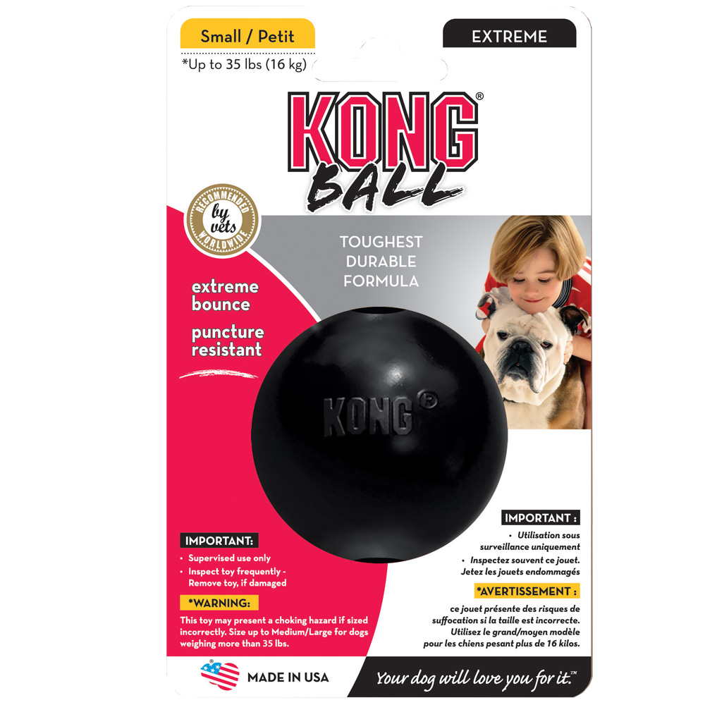 KONG Extreme Ball - Small Black