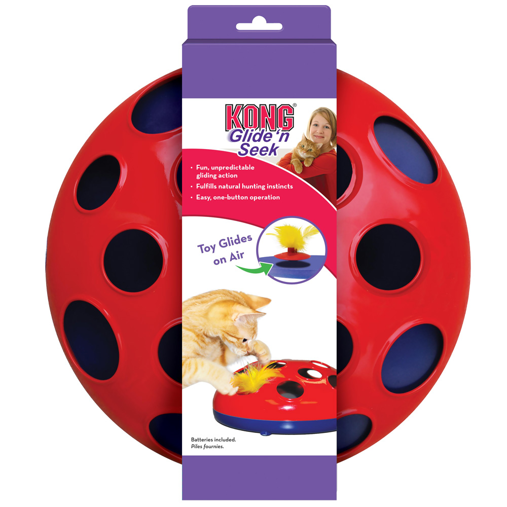 KONG Glide 'n Seek Cat Toy