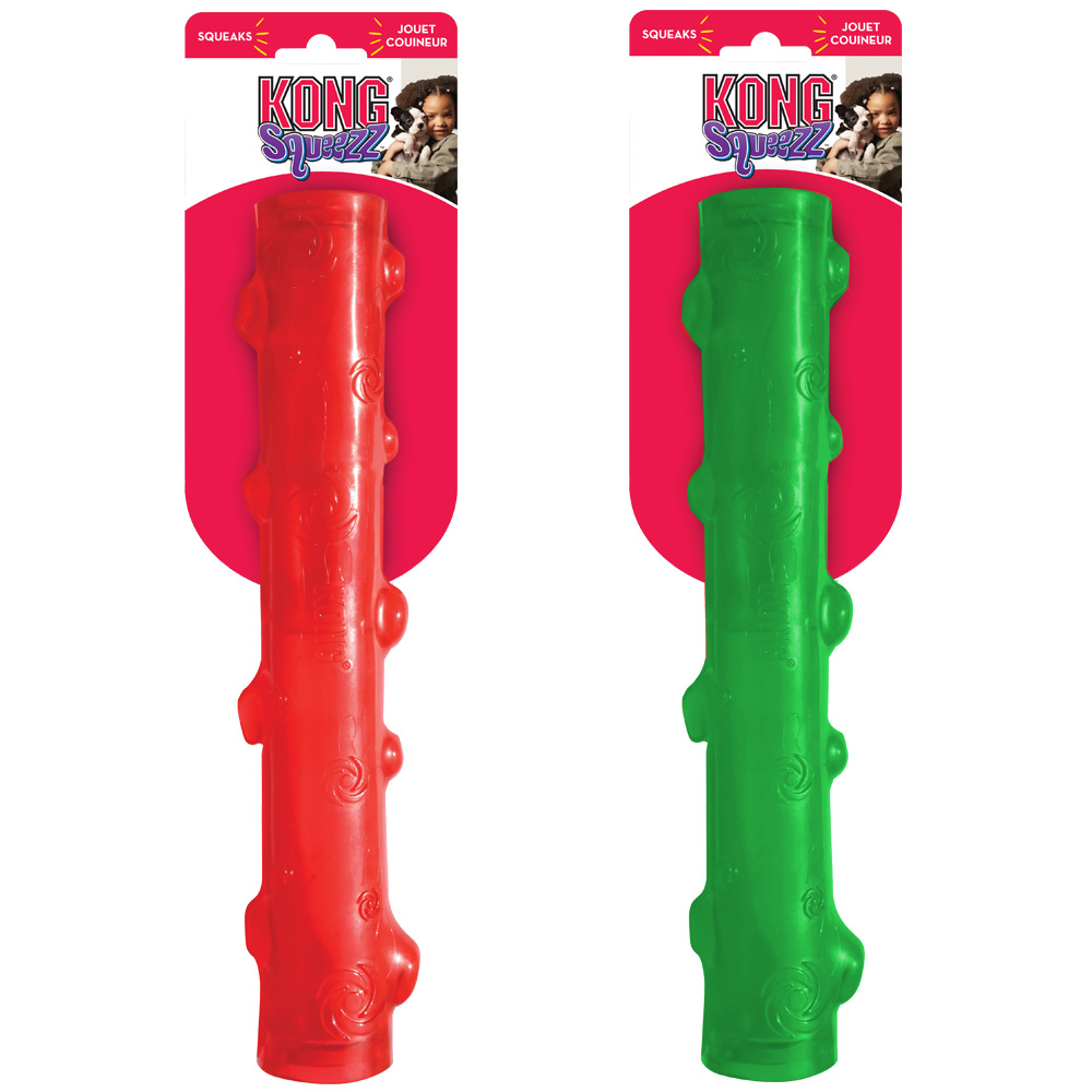 KONG Large Squeezz Stick - Assorted