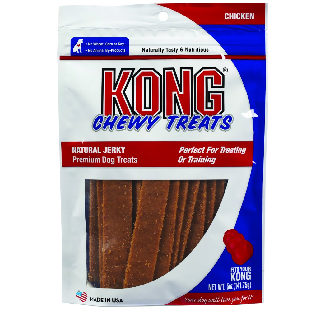KONG Natural Jerky - Chicken (5 oz)