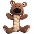 KONG Pudge Braidz Bear Dog Toy - Medium/Large
