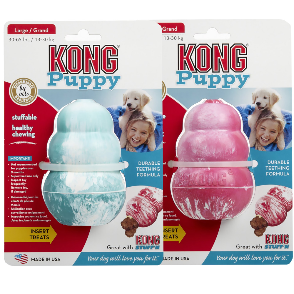 KONG Puppy  - LARGE (upto 65 lbs)