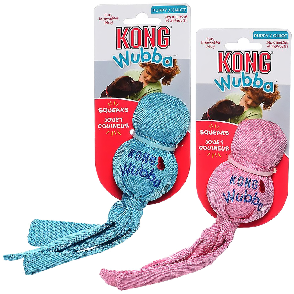 KONG Puppy Wubba (Assorted)