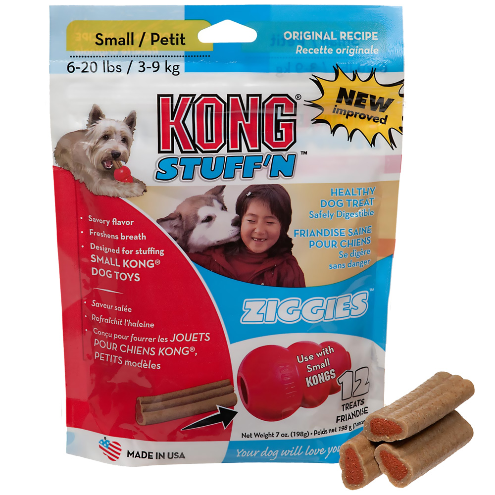 Kong Puppy Ziggies for Dogs Small 12 pack (7 oz)