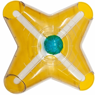 Kyjen Dog Games Cross Slider with Treat Ball