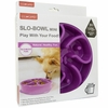Kyjen Dog Games Slo-Bowl Mini - Flower Purple
