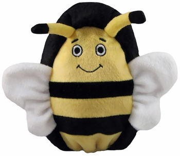 Kyjen Hard Boiled Softies - Boris the Bee (Large)