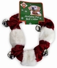 Kyjen Holiday Bell Collar Red/White - Large
