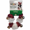Outward Hound® Holiday Bell Collar Red/White - Medium