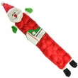 Kyjen Holiday Long Body Squeaker Mat - Santa