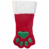 Kyjen Holiday Red Paw Stocking - Large