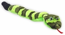 Kyjen Invincibles 3 Squeak Snake (Green/Black )