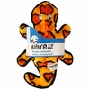 Outward Hound® Invincibles 4 Squeak Gecko - Orange