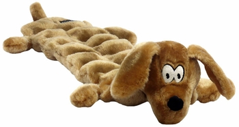 Kyjen Long Body Squeaker Mat - Large Wiener Dog