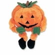 Kyjen Plush Puppies Bungee Pumpkin