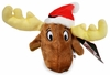 Kyjen Plush Puppies Invincible Moose Ornament
