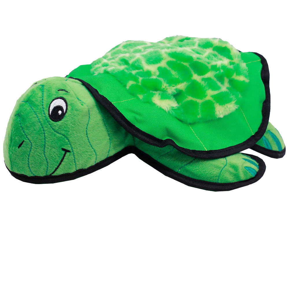 Kyjen Plush Puppies Lil' Rippers - Turtle