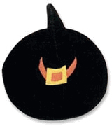 Kyjen Plush Puppies Witch's Hat