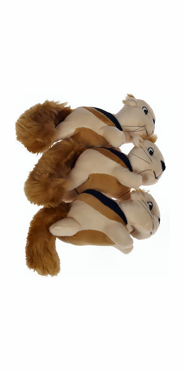 Kyjen Squeakn' Animals - Squirrel (3 pack)