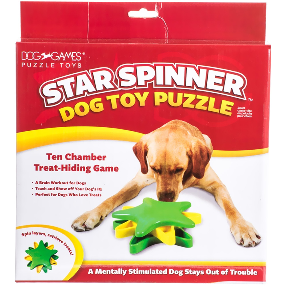 Kyjen Star Spinner Dog Toy Puzzle