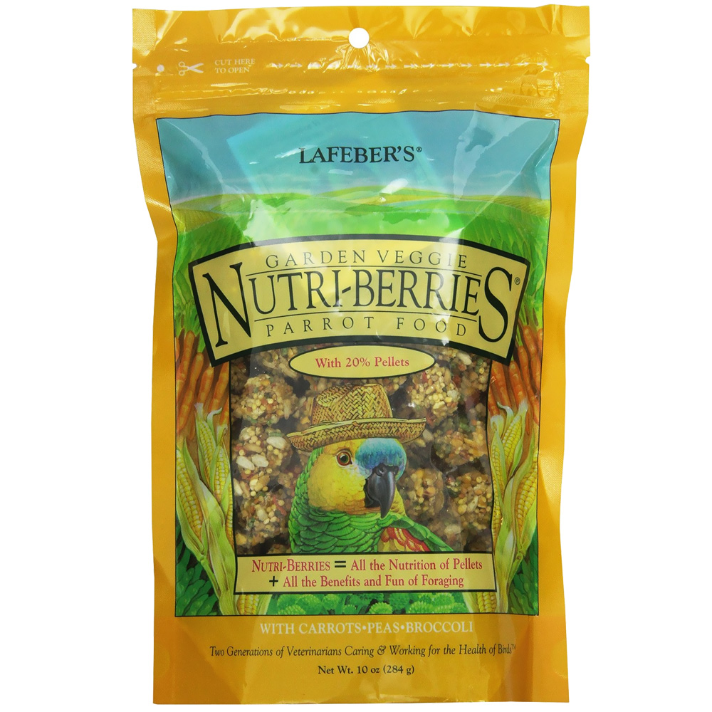 Lafeber Garden Veggie Nutri-Berries with Vegetables Parrot Food (10 oz)