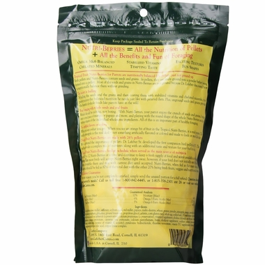 Lafeber Tropical Fruit Nutri-Berries Parrot Food (10 oz)