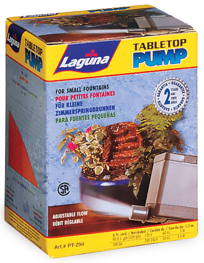 Laguna Table Top Pump for Small Fountains