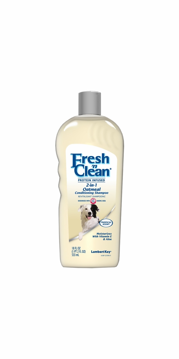 Lambert Kay Fresh 'N Clean 2-in-1 Oatmeal Conditioning Shampoo - Tropical Scent (18 oz)