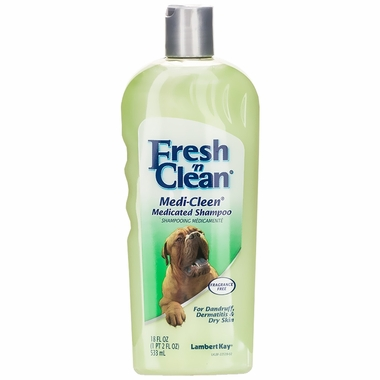 Lambert Kay Fresh 'N Clean Medi-Clean Medicated Shampoo - Fragrance Free (18 oz)