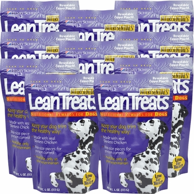 Lean Treats - Nutritional Rewards for DOGS 10-PACK (2.2 lbs)