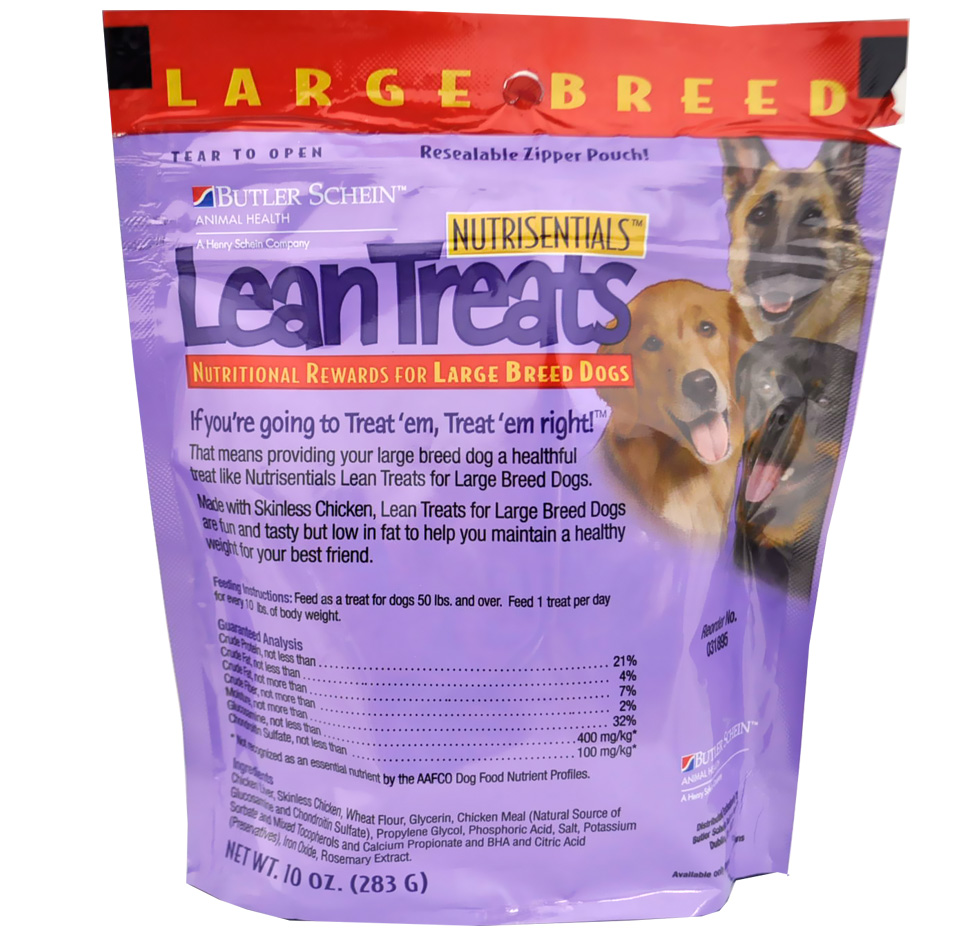 Butler Lean Treats For Large Dogs