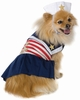 Leg Avenue Dog Costumes Sailor Sweetie Costume - X-SMALL