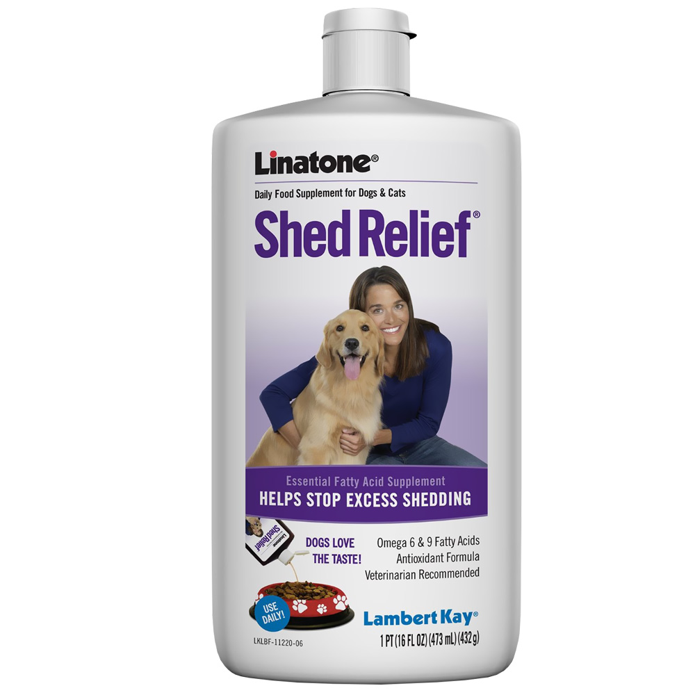 Linatone Shed Relief for Dogs (16 oz)