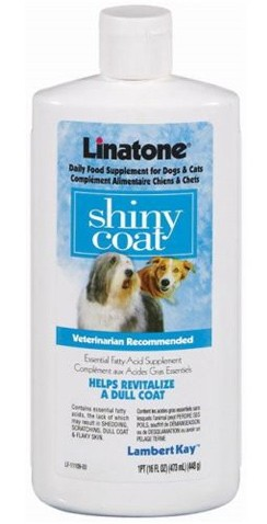 Linatone Shiny Coat for Dogs & Cats (16 oz)