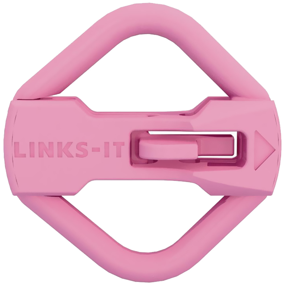 LINKS-IT Pet Tag Connector - Pink