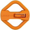 LINKS-IT™ Pet ID Tag Connector - Orange