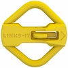 LINKS-IT™ Pet ID Tag Connector - Yellow