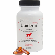 Lipiderm Large Breed (60 Gel Capsules)