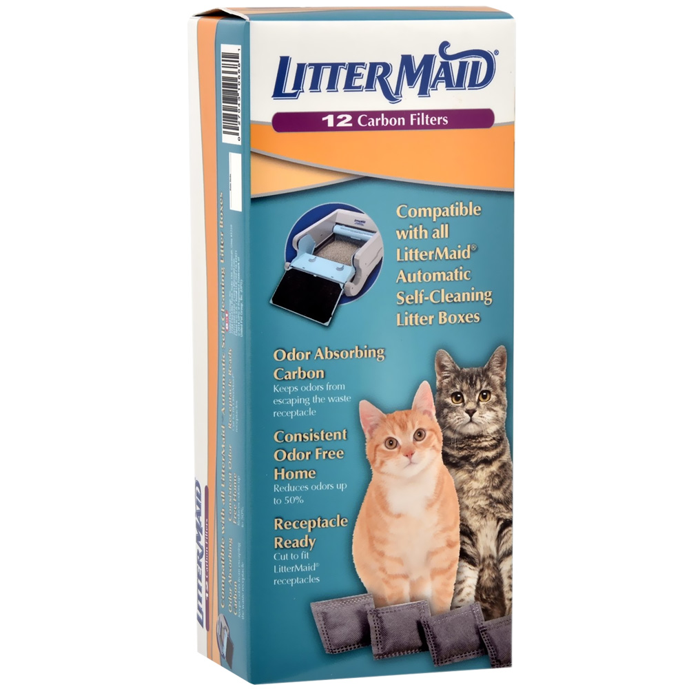 LitterMaid Carbon Filters Value Pack - 12