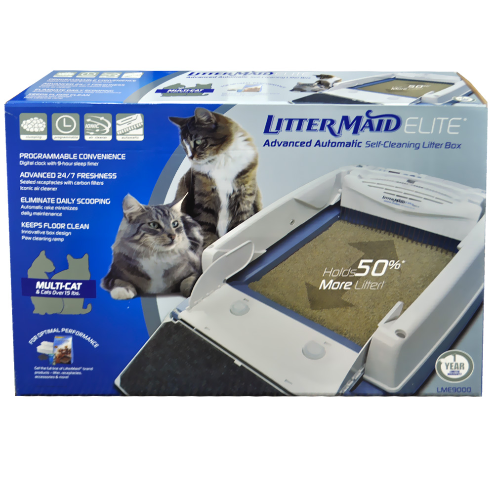littermaid self cleaning litter box instructions